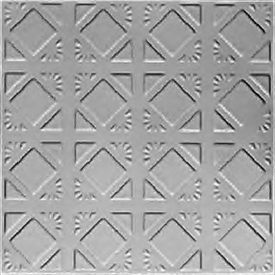 ABSTRACT DIAMONDBACK - TIN CEILING TILE - 0675