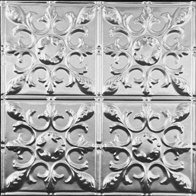ANTIQUE SNOWFLAKE - TIN CEILING TILE - 1218