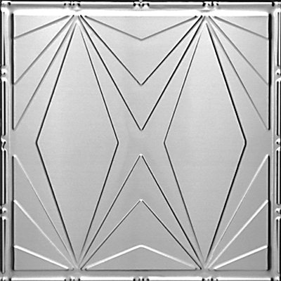 ART DECO TRIANGLES - TIN CEILING TILE - 2403