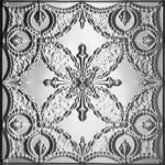 BUTTERFLY NEEDLEPOINT - TIN CEILING TILE - 2410