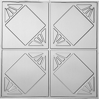 CHECKERED PAST - TIN CEILING TILE - 1216