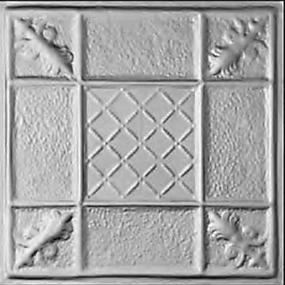 COAT OF ARMS - TIN CEILING TILE - 2450