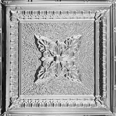 COFFERED DELIGHT - TIN CEILING TILE - 2423