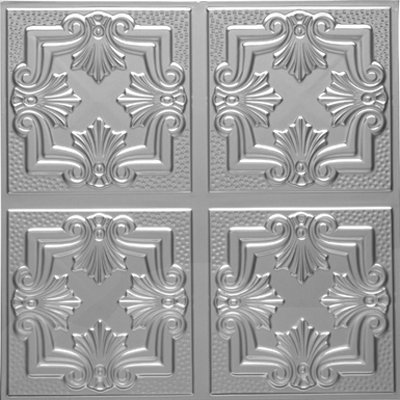 DETAILED FLEUR DE LIS - TIN CEILING TILE -1202