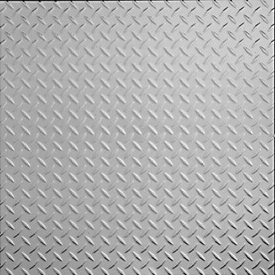 DIAMOND PLATE - TIN CEILING TILE - 2474