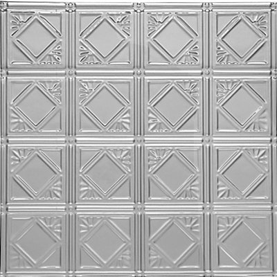 DIAMONDBACK SQUARES - TIN CEILING TILE - 0603