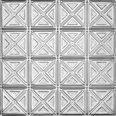 DIMENSIONAL GEOMETRY - TIN CEILING TILE - 0609