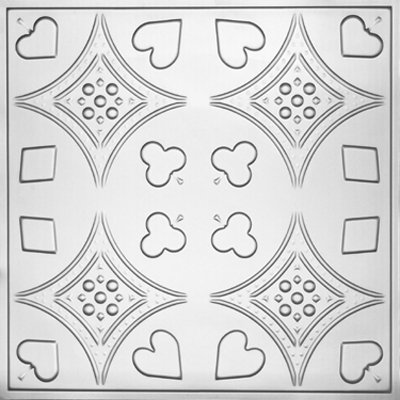 EUCHRE - TIN CEILING TILE - 2415