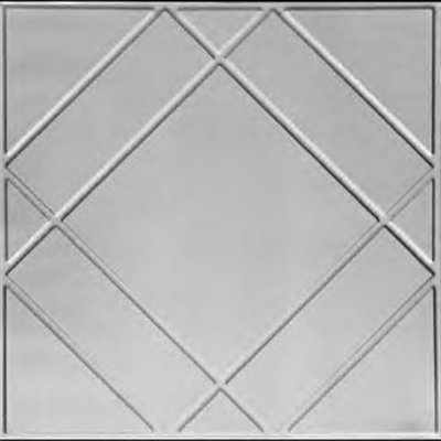 FLOATING GEOMETRY - TIN CEILING TILE - 2404