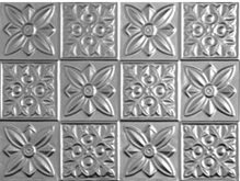 Flower Power - Aluminum Backsplash Tile - #0612