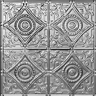 HARRY'S SCROLLWORK - TIN CEILING TILE - 1219
