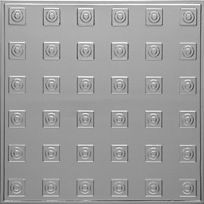 HERALD'S SQUARES - TIN CEILING TILE - 2479