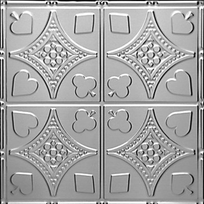 HIGH STAKES - TIN CEILING TILE - 1215