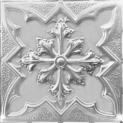 LARGE SNOWFLAKE - TIN CEILING TILE - 2452