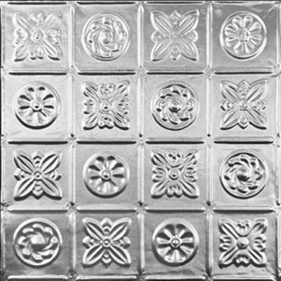 PINWHEEL - TIN CEILING TILE - 0613