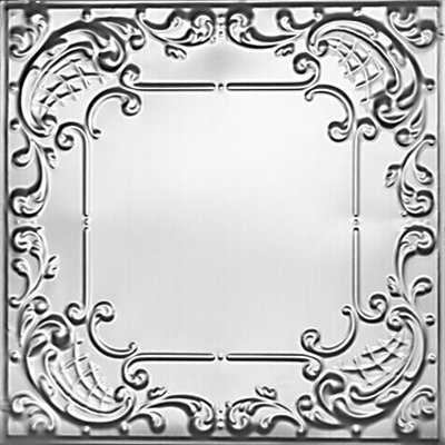 QUEEN ANNE LACE - TIN CEILING TILE - 2406