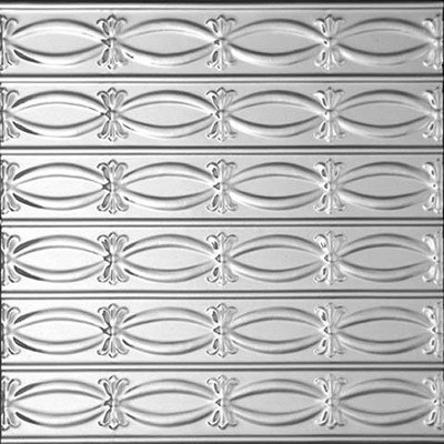 RIBBONS - N - BOWS - TIN CEILING TILE - 0303
