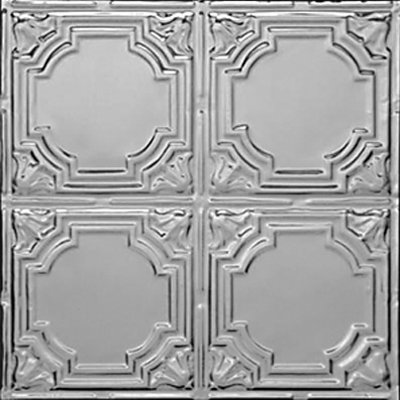 STAINED GLASS - TIN CEILING TILE - 1207