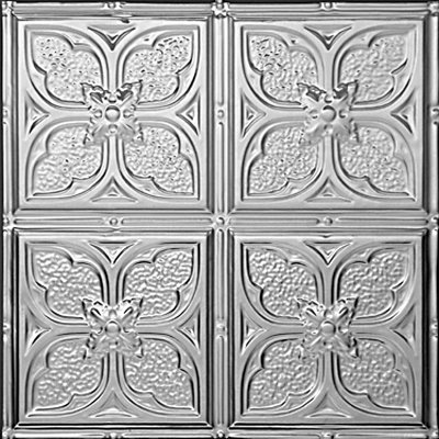 TOM'S FLOWER - TIN CEILING TILE - 1217