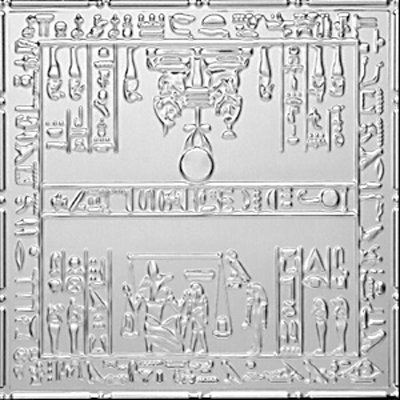 TUTANKHAMUN'S TOMB - TIN CEILING TILE - 2493