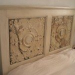 Decorative Ceiling Tile Headboard