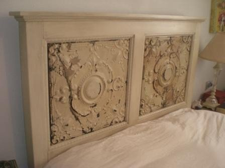 Decorative Ceiling Tile Headboard