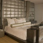 faux leather headboard