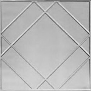 Floating Geometry - Tin Ceiling Tile - #2404