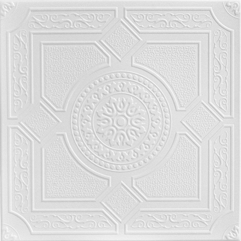 kensington gardens styrofoam ceiling tile r30 u201c - Decorative Ceiling Tiles