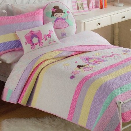 Castle Fairy and Unicorn Bedding