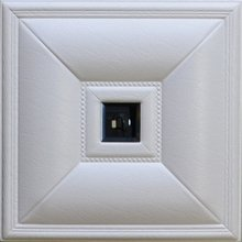 Crystal Palace Faux Leather Ceiling Tile