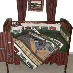 Patch Magic Train Crib Bedding