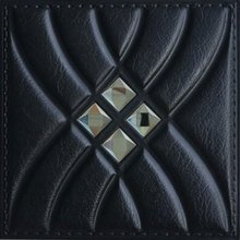 Satin Doll Faux Leather Ceiling Tile