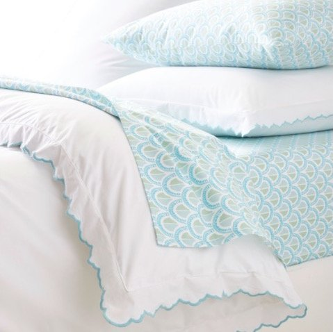 Scallop Edge Duvet Cover