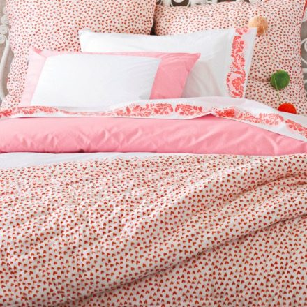 Serena and Lily color frame duvet cover