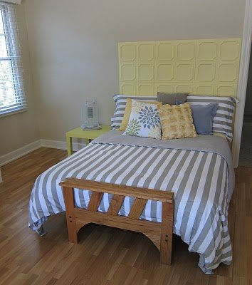 Ceiling Tile Headboards Redecorate Your Bedroom