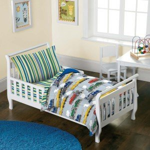 Trains Toddler Bedding Set