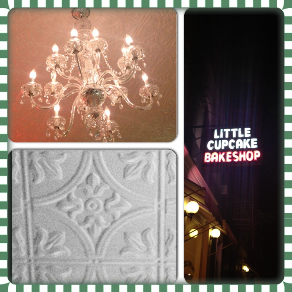 Decorative Ceilings at Little Cupcake Bakeshop