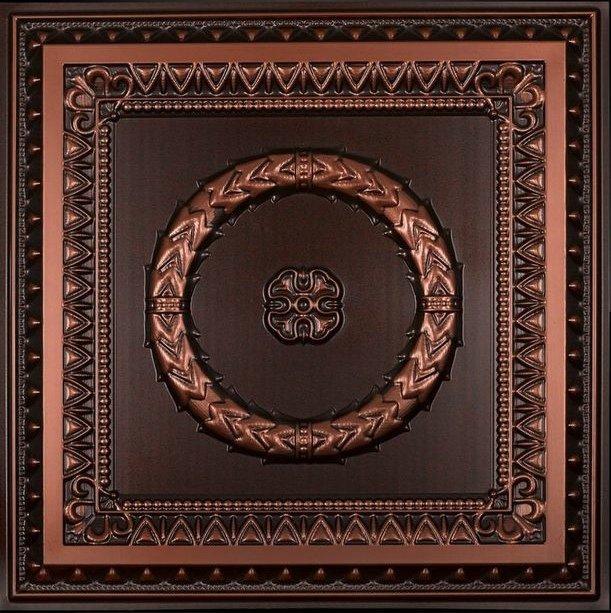 Laurel Wreath - Faux Tin Ceiling Tile - 210