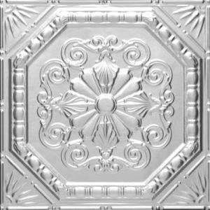 ROBINSON'S OCTAGONAL MEDLEY MEDALLION Tin Ceiling Tile