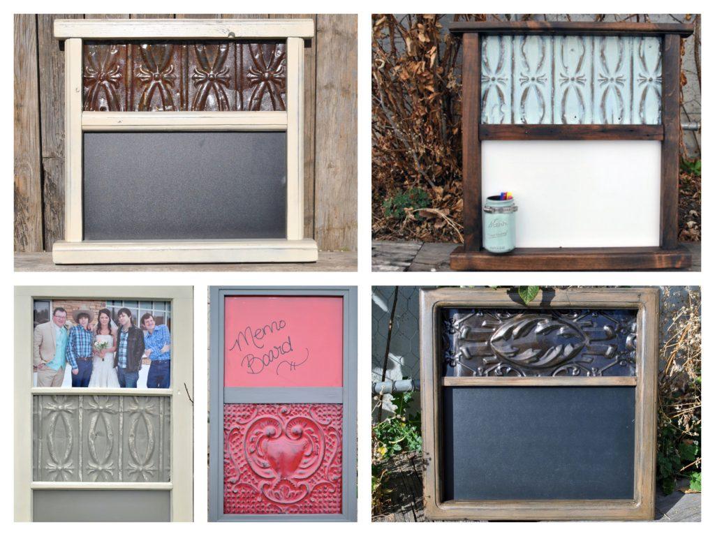 Tin Ceiling Tile Frames Mirrors Bulletin Boards Amp Home