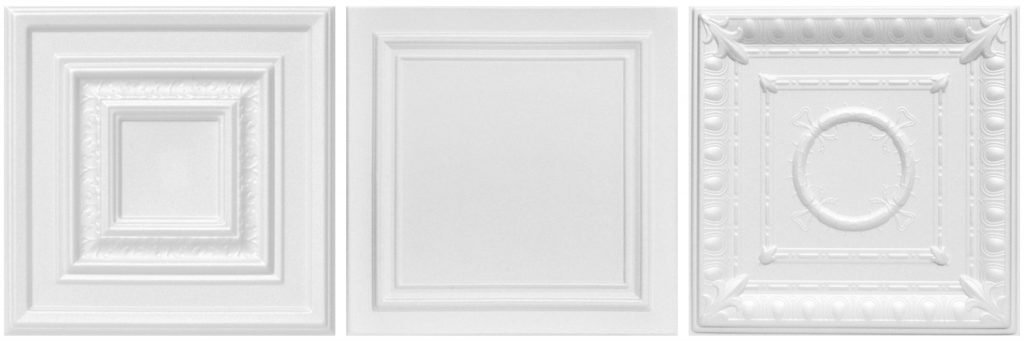 White-Styrofoam-Decorative-Ceiling-Tiles