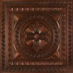 argonaut faux tin ceiling tile DCT01 antique copper
