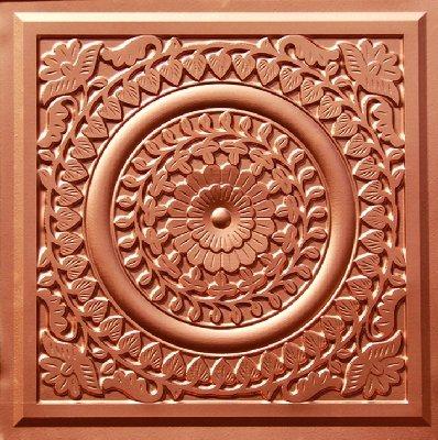 Grandma's Doilies - Faux Tin Ceiling Tile - 211