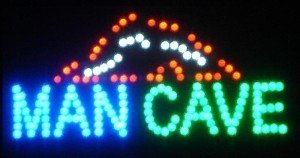 MAN CAVE Neon LED Sign 19 x 10
