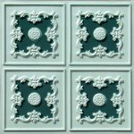 Pista Pearl & Green Ceiling Tiles