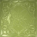 Honey Dew Green Aluminum Ceiling Tile