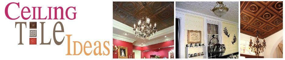 Ceiling Tile Ideas | Decorative Ceiling Tiles | Faux Tin Ceiling Tiles | Styrofoam Ceiling Tiles |  Tin Ceiling Tiles