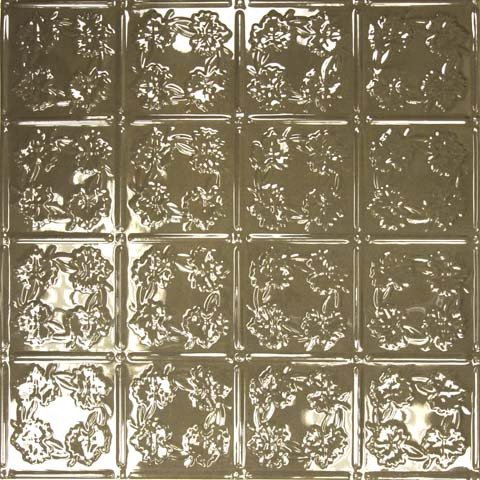 CHOCOLATE Autumn Leaves - Aluminum Ceiling Tile - 0608