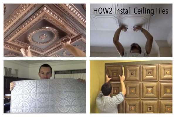 HOW2 Install Ceiling Tiles